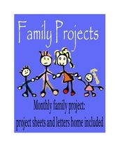 A Year of Family Projects – To Share