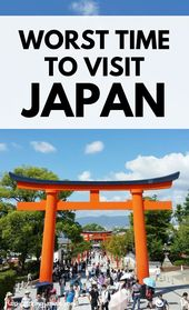 WORST time to go to Japan?! When is BEST time to go in 2019 or 2020? Backpacking Japan Journey