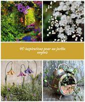HOME & GARDEN: 40 inspirations pour un jardin anglais plants lawn 40 inspirat…