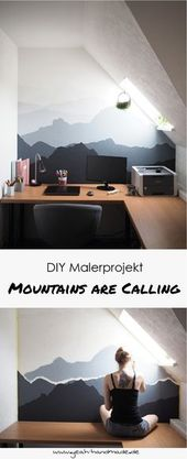 DIY painter project: Mountains are calling
