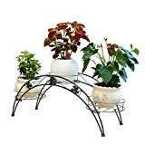 Kathson Mini Countertop Plant Stand Metal Potted Decorative