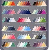 Fiche : Affiliation des couleurs