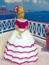 Baby Carrier Häkelanleitung: Traumhaftes Prinzessinnen – oder Hochzeitskleid für kleine P...