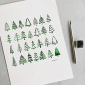 15 Christmas Doodles For Your Bullet Journal