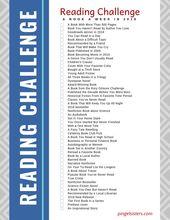 Reading Challenge 2019: Un livre Une semaine avec le  – Best of Pingel Sisters