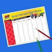 Ryan S Mystery Playdate 3 Marker Challenge Playdate Chore Chart Markers