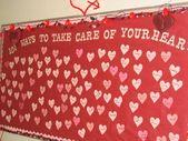 101 ways to keep your heart healthy bulletin board