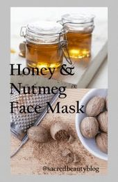 DIY face mask to get rid of acne marks #honeyfacemask #skinproblem #facemask #ho…