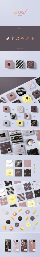 Branding Inspiration | Marmel #branding #identity #brandidentity #visualidentity #inspiration #inspo – G r a f i k