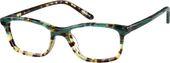 Green Rectangle Glasses #4424124 | Zenni Optical Eyeglasses – Stuff to buy