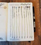 18 Genius Bullet Journal Tracker, die Sie diesen Monat ausprobieren müssen - Fast ein Chaos 1