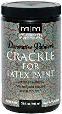 Crackled Paint Product Review Valspar Crackle Glaze Crackle Painting Painting Valspar