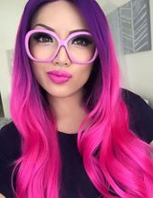 Best Ombre Hair  41 Vibrant Ombre Hair Color Ideas  Vibrant Ombre Hair Colors  P…  – Haare