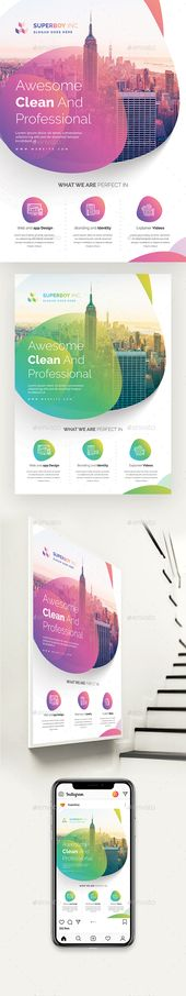 Creative Corporate Flyer – Flyer Templates
