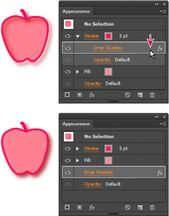 Illustrator Shortcuts  Illustrator Appearance Panel :: About appearance attributes • Appearance panel...