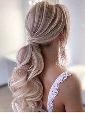 Blonde Frisur whi