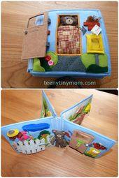 Teddyhaus für unterwegs Spielhaus aus Wollfilz Quiet e-book