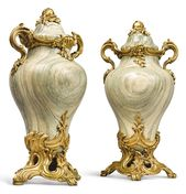 date unspecified A pair of Louis XV style gilt bro…