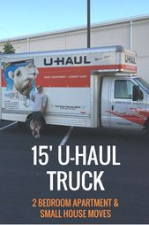 U Haul S 15 Moving Trucks Are Perfect For 2 Bedroom Moves Loading Is 50 Percent Easier With The Low Truck Deck And You C U Haul Truck Uhaul Truck Fuel Saver