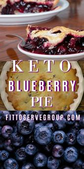 Bursting with antioxidants this keto blueberry pie is one that is sure to become…