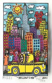 James Rizzi Neue Arbeiten Erschienen Kunst Grundschule James Rizzi Kunst Klassenzimmer