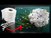 fleurs en papier toilette (tutoriel gratuit – DIY)