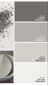 Alpina Feine Farben Grau – #Alpina #Farben #Feine #Grau- Poesie der Stille im Ba… #alpina …