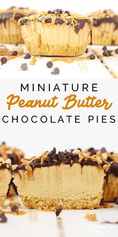 Chocolate Peanut Butter Pie Cups are no bake, easy…
