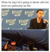 Riley Curry: Du bist der wahre MVP! #Warriors – nbafunnymeme.com / …   – Stephen Curry Golden State Curry Family