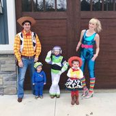 Cute and amazing ideas for the Halloween costumes one theme for the entire family 2019