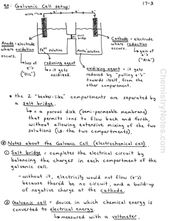 Electrochemistry Notes And Galvanic Cell Notes Chemistry Notes Galvanic Cell Redox Reactions