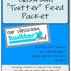 "Classroom ""Twitter Feed"" Bulletin Board Set – #board #bulletin #classroom #twitter – #LongfellowQuotes"