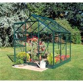 Gewächshäuser Beliebte 66 3.8m Alu Grün 3mm Blank Glas – SO8111 – Garten …   – anbau