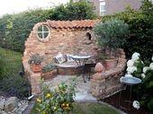 Eine Steinmauer gibt Ihrem Garten eine wunderbare Atmosphäre … 9 Beispiele für
