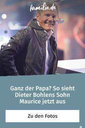 So Ahnlich Sieht Maurice Seinem Papa Dieter Bohlen Familie De Dieter Bohlen Bohlen Familienleben