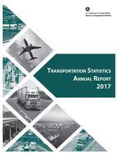 Transportation Statistics Annual Report 2017 Annualreports Transportation Stati Graphic Design Brochure Brochure Design Layout Annual Report Design