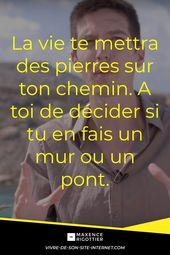 Quotation sur la vie