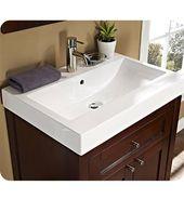 """Fairmont Designs 125-V2618 Shaker 26×18 """"Modernes Waschtisch- und Waschbecken-Set aus dunklem Kirschbaum   – bathroom stuff"""