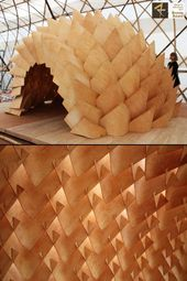 Dragon Skin Pavilion – Structural Shell System …