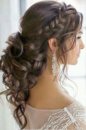 Wedding Hairstyles With Curls Only Wedding Hairstyles Half Up With Veil Half Wed  #hairstyl