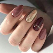 A Simple Tip About Gel Nails Ideas for Fall Autumn Art Designs Uncovered