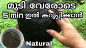 How to Dye Your Hair Naturally | Mudi karukkan natural remedy | Easy hair black …   – Hair dye
