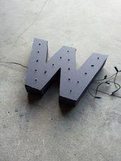 DIY – een lichtletter maken – BLOG – bij