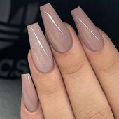 More than 60 most popular nude nail style ideas in 2019   – Manucure