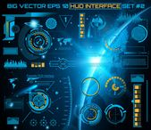 Futuristic technology interface hud ui background. Premium Vector | Premium Vector #Freepik #vector #background #infographic #