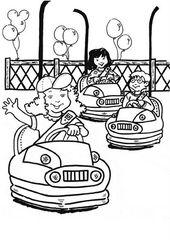 Okul Oncesi Lunapark Boyama Sayfalari Salincak Boyama Sayfasi Park Boyama Sayfasi Lunapark Boyama Sayfasi Cocuk P Boyama Sayfalari Atli Karincalar Faaliyetler
