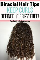 Biracial Haarpflege-Tipps, um Locken definiert, weich und kraus zu halten – Mixed race hair care