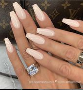 40 Fairly Nude & Ombre Acrylic And Matte White Nails Design For Quick And Lengthy Nails – Web page 16 of 40