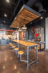 ✔ 34 elegant industrial style home bar ideas 22