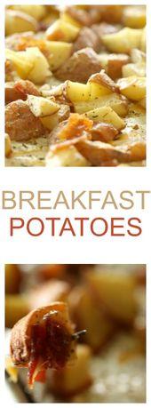 Patatas del desayuno   – Breakfast stuff
